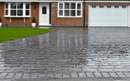 Cheshire Cobble Pressed Concrete Fitted in Warrington