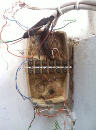 Bt telephone wiring