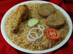 Pilau Kebab is our signature Dish