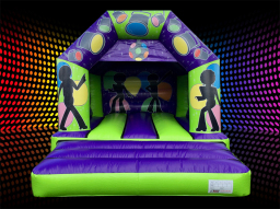 Disco Bouncy Castle