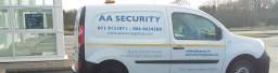 AA Security Mobile Patrol Van
