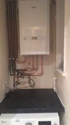 Boiler install after