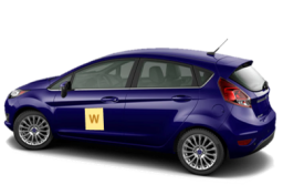 Welch's Driving School Car