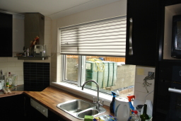 Roller Blind with stripes