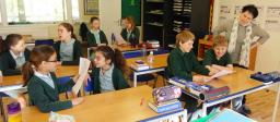 Greenfields School - junior class