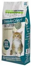Breeder Celect 99 recycled paper pellet cat litter