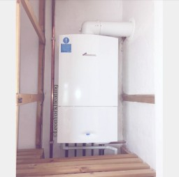 Installation of a new Worcester Boiler