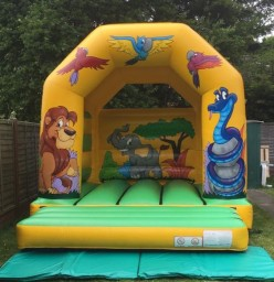 12 x 12ft Jungle Bouncy Castle