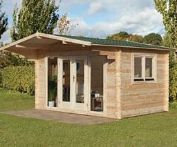 Abberley log cabin
