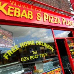 West End Kebab and Pizza Place in Southampton