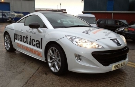 Practical Car And Van Rental Logo