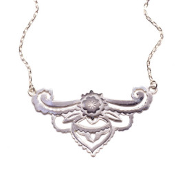 silver enchantment necklace