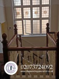 Varnished Banister London