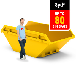8 CUBIC YARD MINI SKIP
