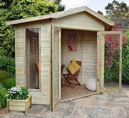 Honeybourne corner summerhouse