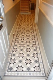 Victorian hallway installed in London, Blenheim