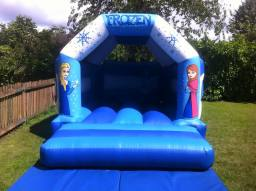 11 x 15ft Frozen Bouncy Castle