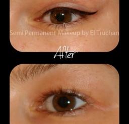 Latino Eyeliner Semi Permanent Makeup By El Truchan Cpcp
