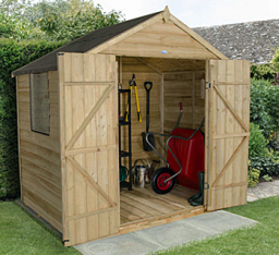 7 x 5 overlap shed