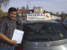 Pass It First Time student of East London