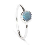 Rodgers & Rodgers Silver Labradorite Ring
