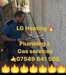 Gas repair works in pinxton