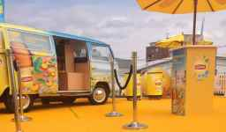 Buttercup Bus - branded campervan photobooth hire