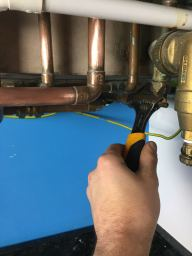 INstalling a Boiler