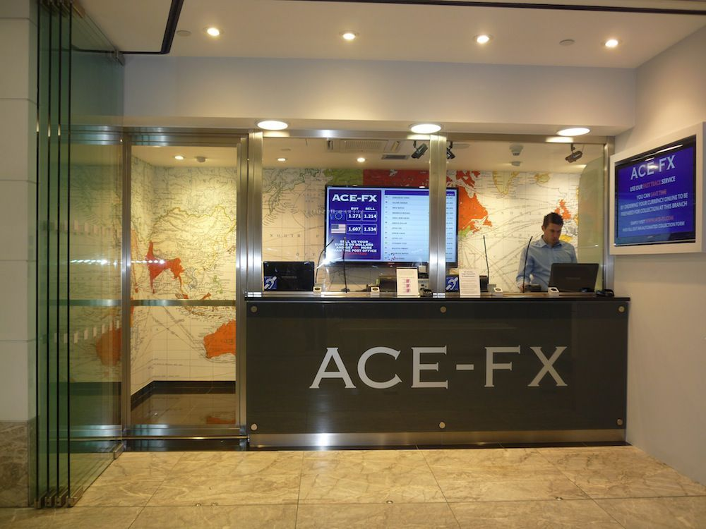 Ace f x 5 london bridge walk london se1 2sx - Post office bureau de change buy back ...