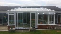 New Edwardian conservatory in Suffolk