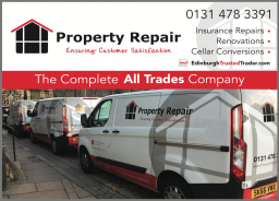 Property Repair.  Impressive Liveried Fleet