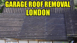 garage roof removal london