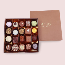 Luxury chocolate box