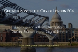 Guitar Lessons in the City of London