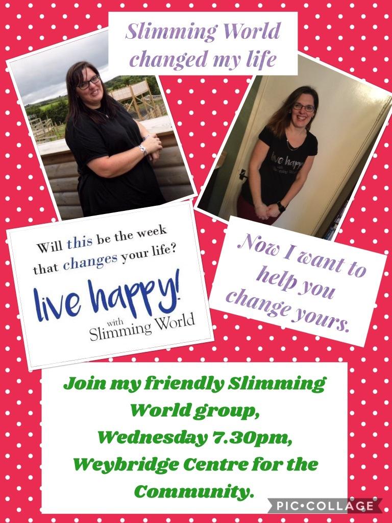 Slimming World Weybridge Centre For The Community