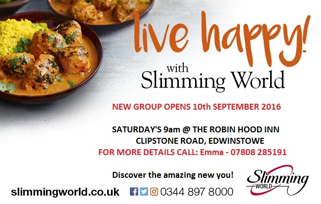 Slimming World Mansfield And Ashfield Chad