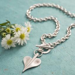 Danon Jewellery Leaf Heart