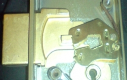 Uniform Lever Packs - inside a curtained mortice lock
