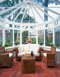 New Victorian Conservatory Glass Roof