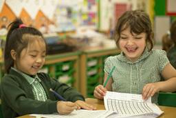 Greenfields School - Infant children