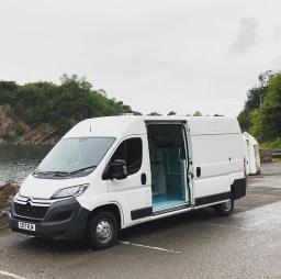 Our mobile grooming van