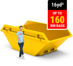 16 CUBIC YARD MINI SKIP