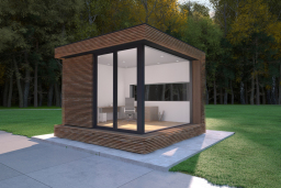 insulated garden office