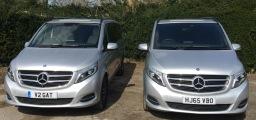 Mercedes V Class - a matching pair