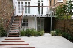 Garden terrace and balcony, Kensington