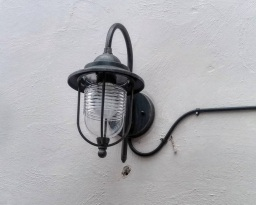 Outdoor lighting install in Blyth
