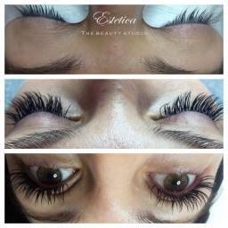 Eyelash extensions in Farnborough by Estetica TBS