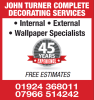 John Turner Complete Decorating Services