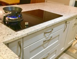 Gas and Induction hob