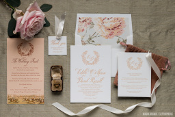 Edele and David's Wedding Stationery Suite